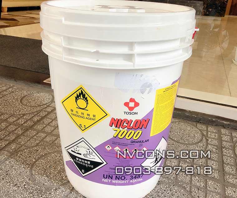 Chlorine Niclon 7000 Tosoh diệt khuẩn nước hiệu quả