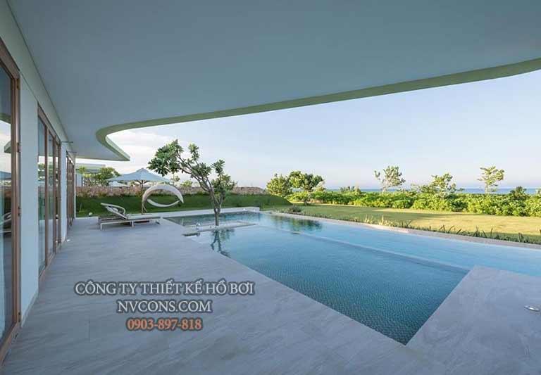Bể bơi nổi gia đình được thiết kế như thế nào