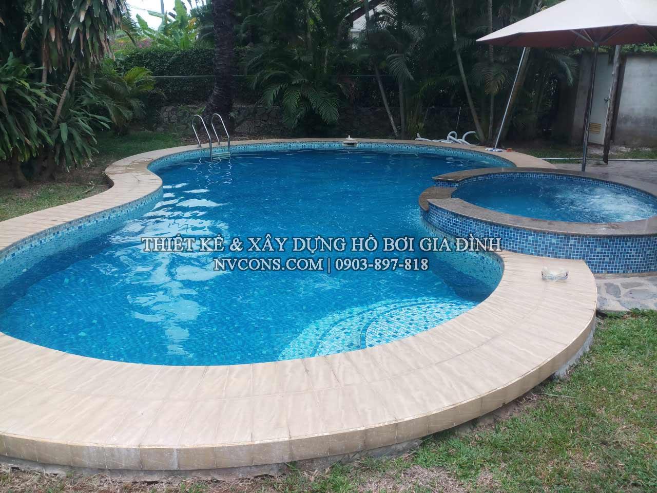 Công ty thiết kế bể bơi gia đình
