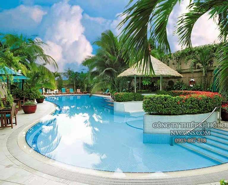 Thiết kế bể bơi kinh doanh