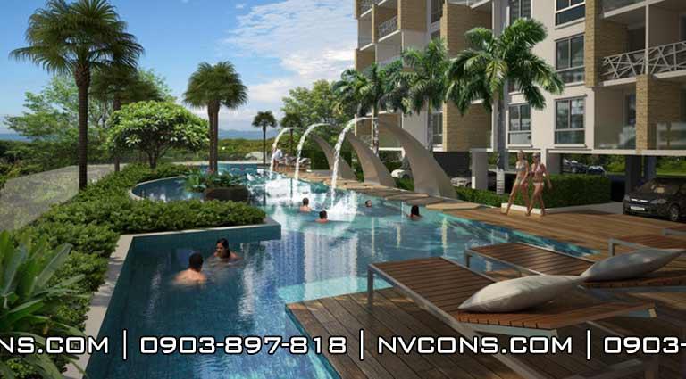 Thiết kế bể bơi chung cư