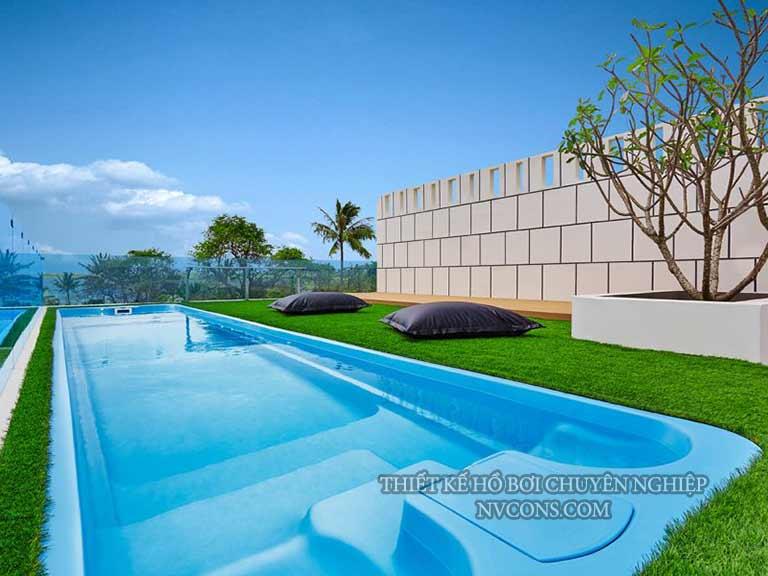 Thiết kế hồ bơi composite